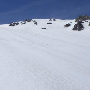 令和元年(2019)5月5日 白馬鑓ヶ岳BCスキー(白馬鑓ヶ岳山頂~南山稜南斜面~白馬鑓温泉)