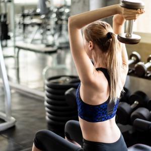 女性向けの二の腕を鍛える筋トレ