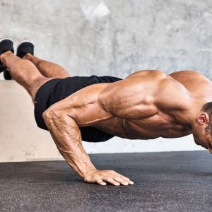 胸筋の上部・中部・下部を鍛える自重筋トレ
