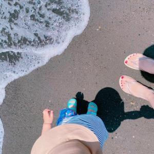 怒涛の引越しと、穏やかな海遊び。