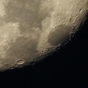 時々 月を覗きます