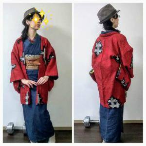 デニム浴衣に名物裂の帯で興福寺と正倉院展へ