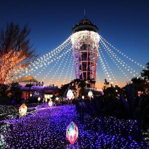 島全体が幻想的な宝石の世界へ!江の島でイルミイベント「湘南の宝石」開催