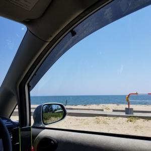 コロナで職失ったけど、もう夏だし散歩がてら海に行く…