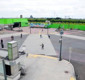 栃木に原寸大の「渋谷スクランブル交差点」が誕生!!!