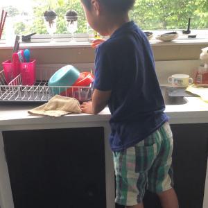 新米皿洗いちゃん
