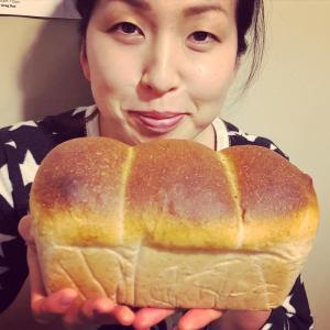 湯種食パンを焼きました!