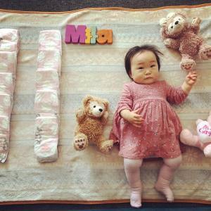 Milaちゃん11ヶ月