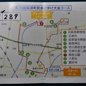 第29回萩原町民歩け歩け大会