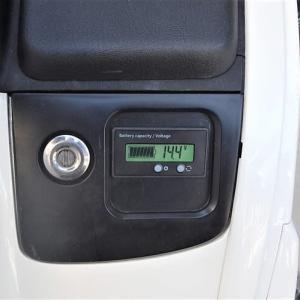 サイドカー電圧計取り付け