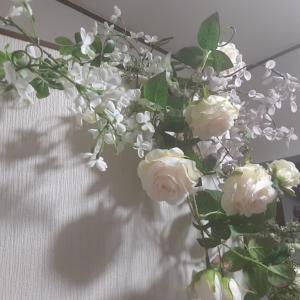 ◇  ◇  ローズのディスプレイ 完 成 …♪