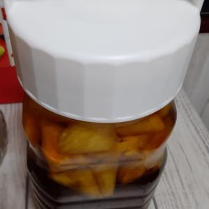 ◇◇ 再びパイナップル酢を…♪