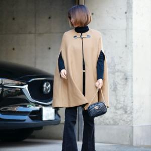 ★「THE古い」にならないようにコートの紐問題