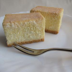 ふわふわ~!チーズケーキを作りました♪