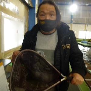 21.1/24  チョウザメ、ヘラブナ、色鯉よくつれます!