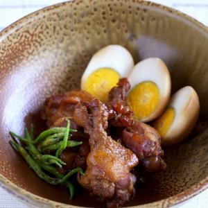 鶏手羽元のさっぱりお酢煮