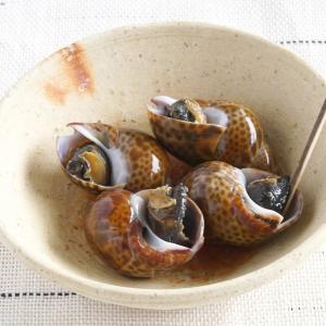 ばい貝の煮つけ