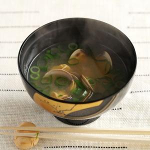 レトルトはまぐりを使った味噌汁