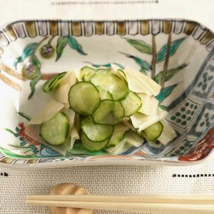 干瓢(かんぴょう)と胡瓜の酢のもの