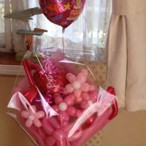 バルーンの花束/誕生日に人気のバルーンの花束プレゼント