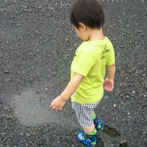 発熱と初長靴