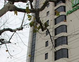 ホリデイイン上海虹橋セントラルホテルにチェックイン IHGリワーズ特典あり