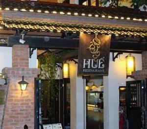 ハノイHUEレストランでの夕食 ベトナム風お好み焼きがグッド
