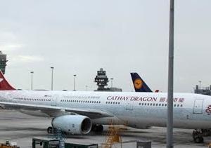 ハノイから香港へ キャセイドラゴンKA296ビジネスクラス搭乗