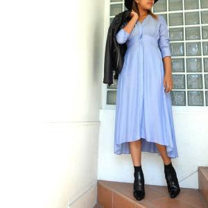 styling/ kei shirahata ロング シャツドレス