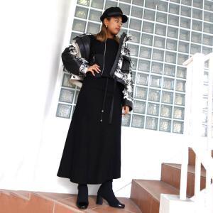 AULA AILA リメイクトップス×マーメイドスカート