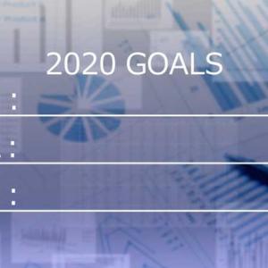 今年の抱負2020!ベイビーステップ&褒めて伸ばす作戦でがんばりますw
