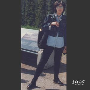 【50代コーデ】1995年当時の私のコーデ(その3)デニムシャツ