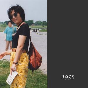 【50代コーデ】1995年当時の私のコーデ(その4)バンダナ柄ロングパンツ