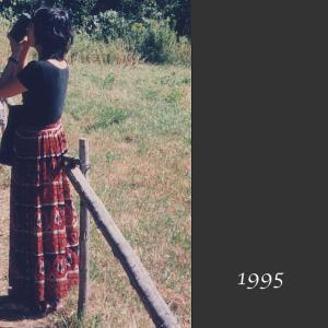 【50代コーデ】1995年当時の私のコーデ(その5)ロングスカート