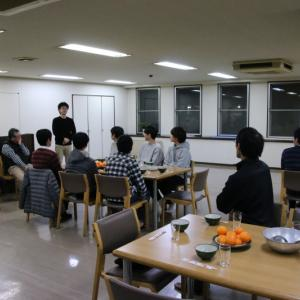 12/15(土)に誕生会・3寮交流鍋大会を行いました。