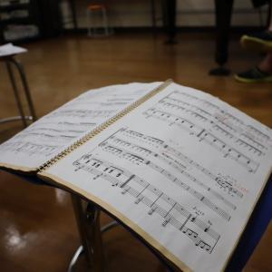 合唱練習開始