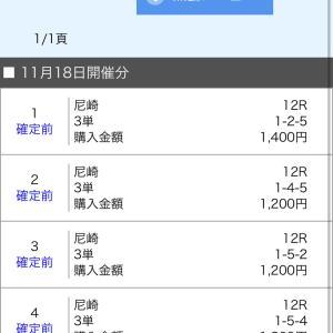 ボートレース尼崎 2019/11/18