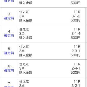 ボートレース江戸川&三国&住之江 2020/1/6