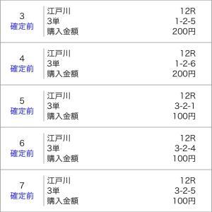 ボートレース徳山&宮島&江戸川 2020/1/18