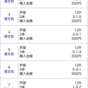 ボートレース芦屋&びわこ 2020/8/1