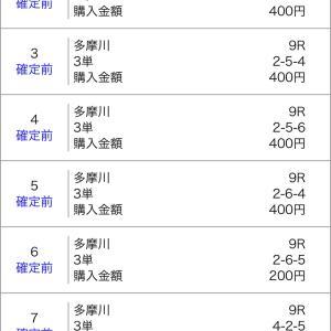 ボートレース多摩川&尼崎 2020/8/5 的中!