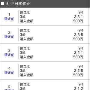 ボートレース住之江 2020/9/7