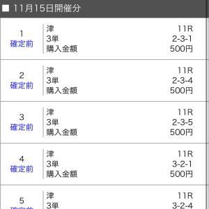 ボートレース津 2020/11/15
