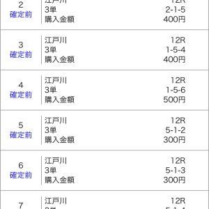 ボートレース江戸川&蒲郡 2021/1/18