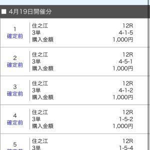 ボートレース住之江&児島 2021/4/19