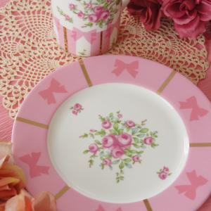 リボン×ピンクてっぱん可愛い♡転写紙コース終了課題作品