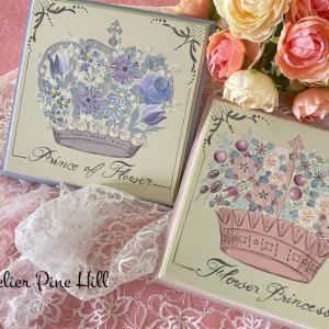 お花いっぱい王冠とティアラ♡スィートマーレライ