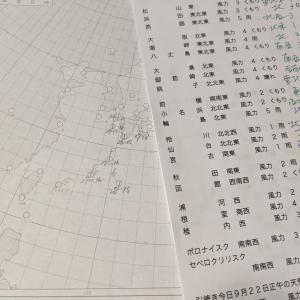 天気図を書く(トライアル)