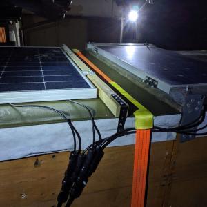 えすかる号のソーラーパネル増設