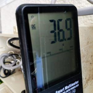 井戸用ソーラーポンプの交換